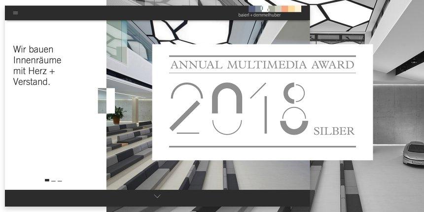 annual multimedia award baierl demmelhuber. Black Bedroom Furniture Sets. Home Design Ideas